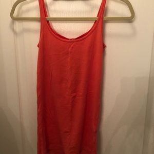 J.Crew cotton coral tank (new with tags)